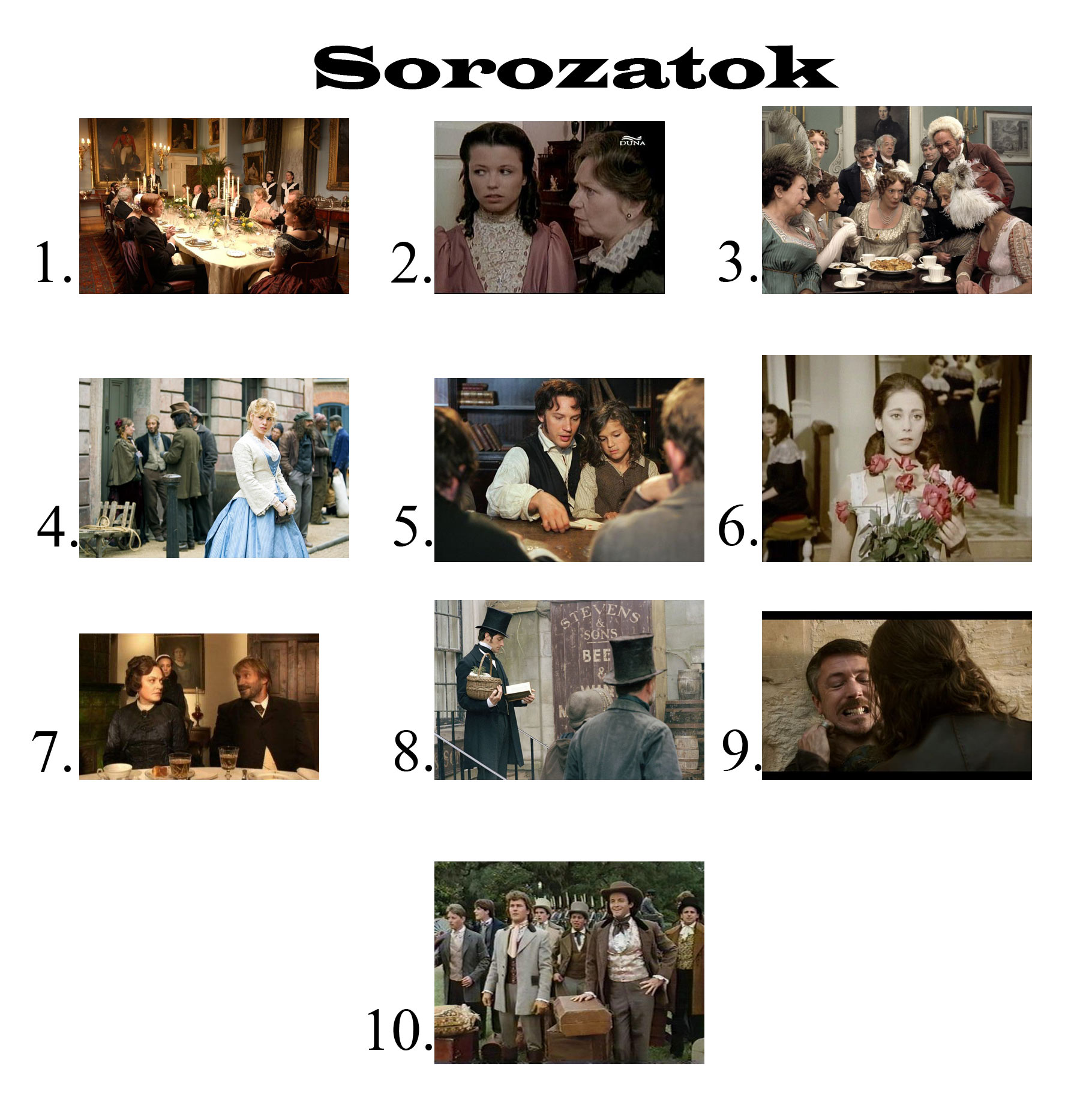 sorozatokall