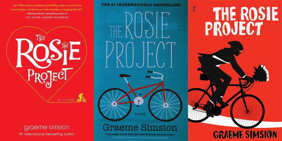 Rosie Project borítók