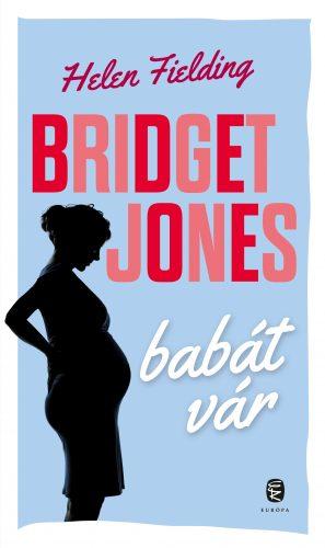 Bridget Jones babát vár könyvborító